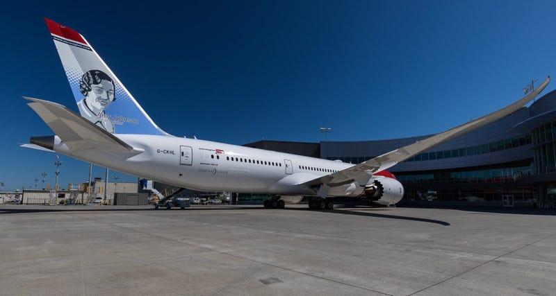 El avión del récord. Norwegian