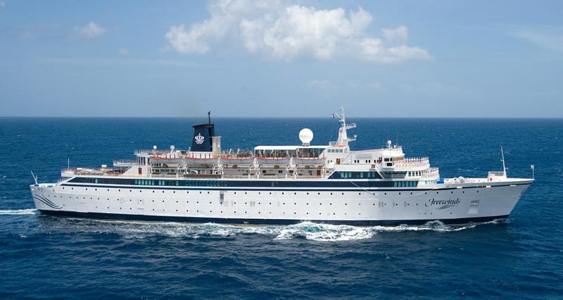 Illustration for article titled Scientology's Flagship Boat Has Been Quarantined After a Confirmed Case of the Measles