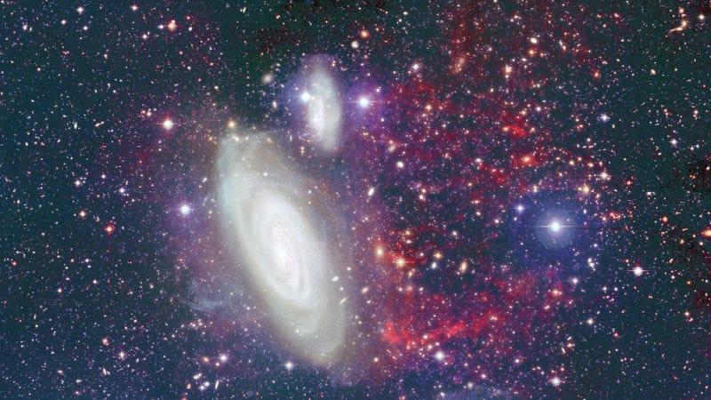 Imagen: Galaxia NgC 4569. Crédito: CFHT/Coelum.
