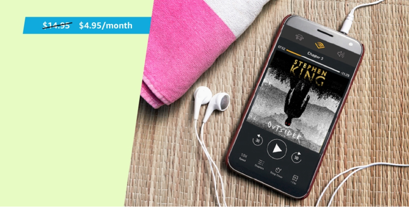 3-Month Audible Subscription | $15 | Amazon | Prime Members only