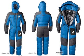 If I Had 1 000 Spare D One Outfit For The Winter Months A First Ascent Peak Xv Down Suit Could Save Money From Not Having To Heat My House