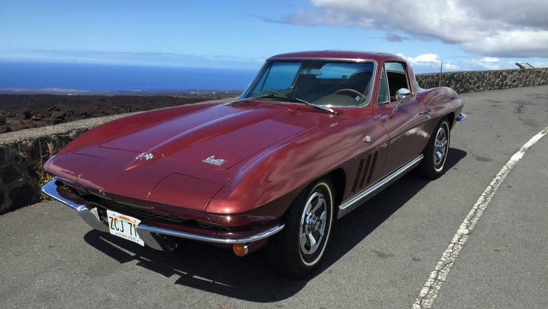 Illustration for article titled At $49,000, Would You Say Aloha to This 1966 Chevrolet Corvette Sting Ray?