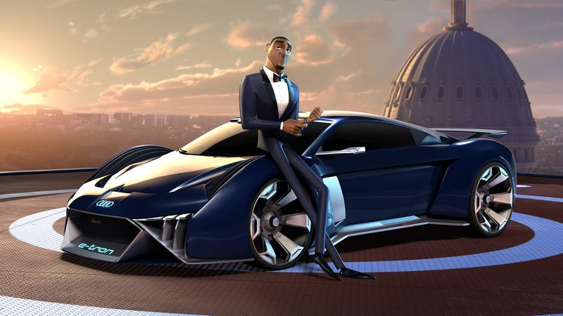 Illustration for article titled There's a Badass Audi Supercar in the Upcoming Will Smith Animated Film