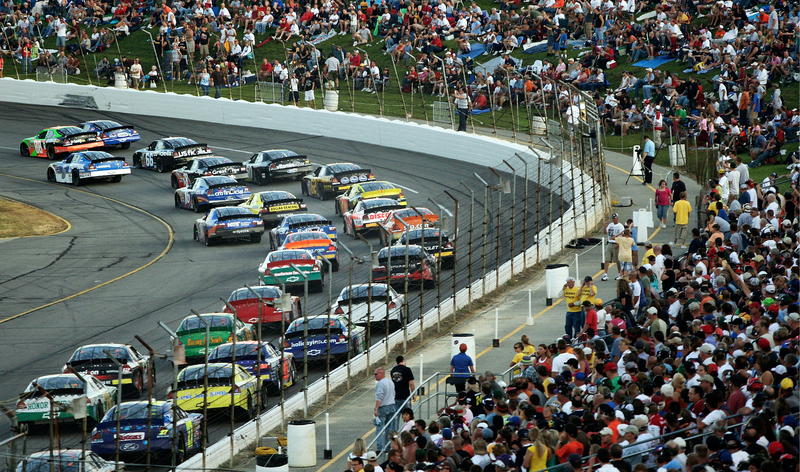 Be still my heart. This is the Kroger 200 at Lucas Oil Raceway, a track close Indianapolis Motor Speedway, back when the Xfinity Series was known as the Nationwide Series. That series raced here instead of at the big track. Photo credit: Jamie Squire/Getty Images