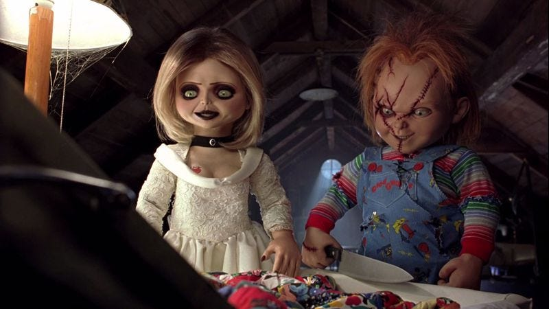 Illustration for article titled Seed Of Chucky finds the absurdity in the familial dysfunction of possessed demon toys