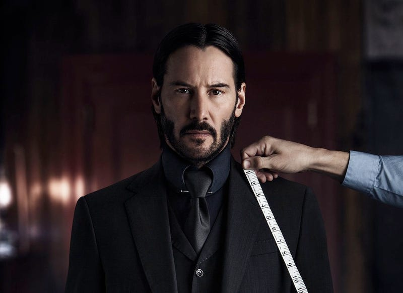 """Illustration for article titled """"The Boogeyman Destroys Mount Olympus"""": Thoughts on John Wick: Chapter 2"""