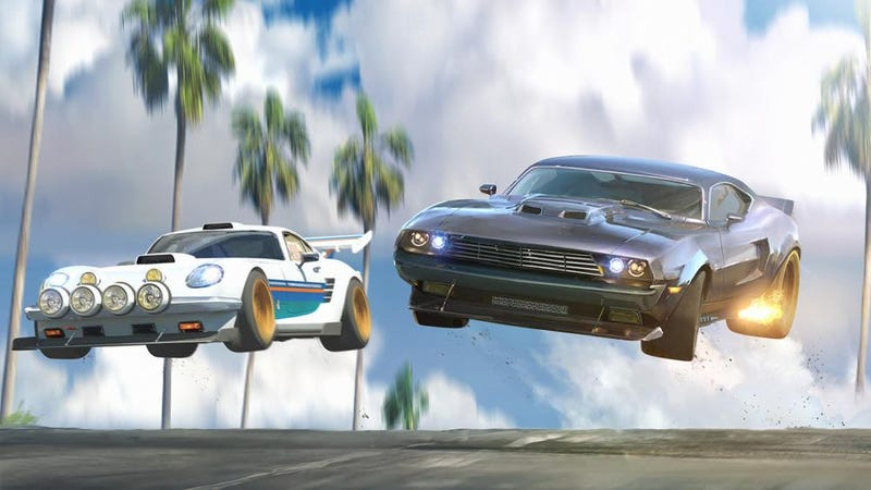 A promo image for the upcoming Fast & Furious animated series.