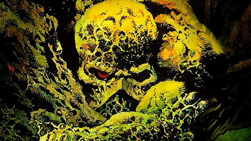 Illustration for article titled DC is growing a live-action Swamp Thing series for its upcoming streaming service