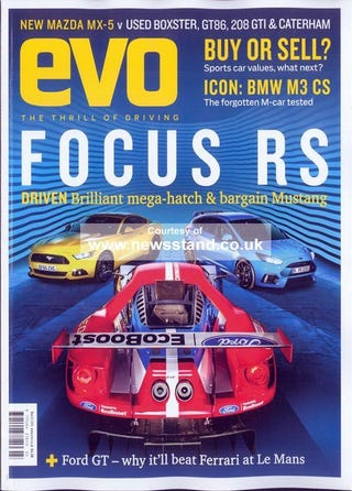 Illustration for article titled next issue of EVO (UK) looks good.
