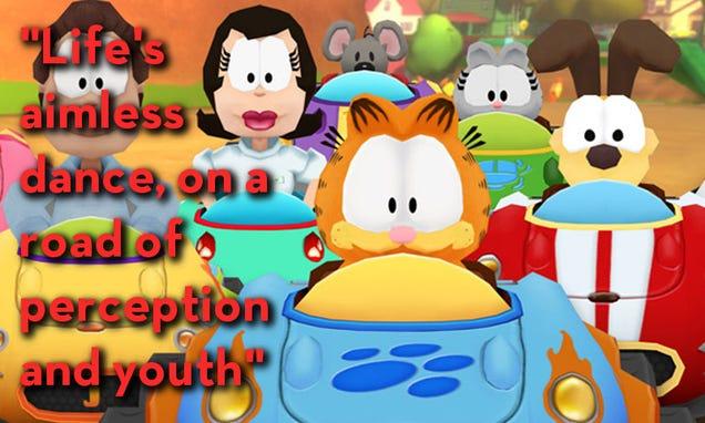 Garfield Kart As Told By Steam Reviews Gameskidunia