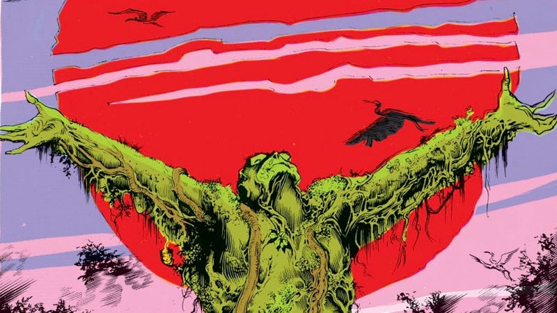 Illustration for article titled Swamp Thing Fucks and We Deserve to See It