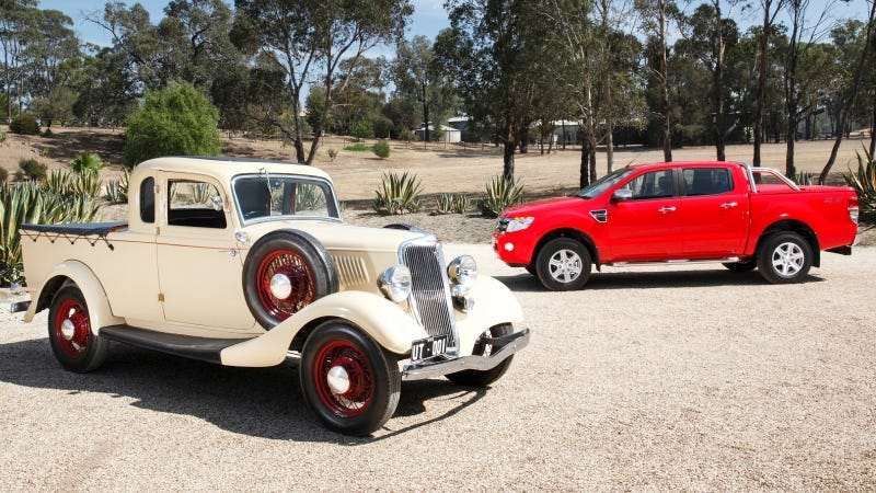 Ford Is Decreeing Today The 80th Anniversary Of Australian Invented Car Based Roadgoing Pickup Known As Ute And In Recognition We Found A Bit