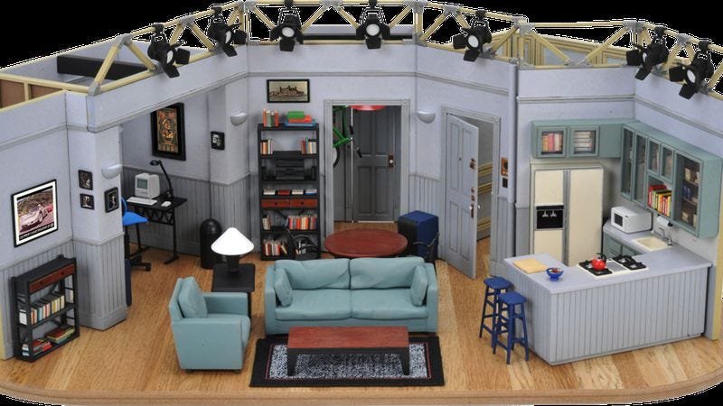 Photo: Seinfeld Set Replica