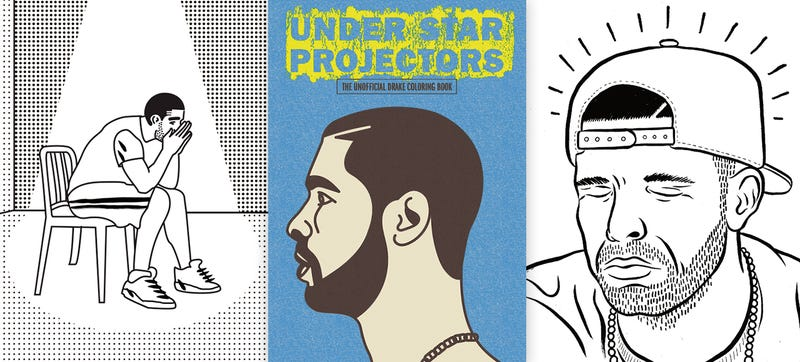 Illustration for article titled The Wait Is Over, a Drake Coloring Book Is Finally Here