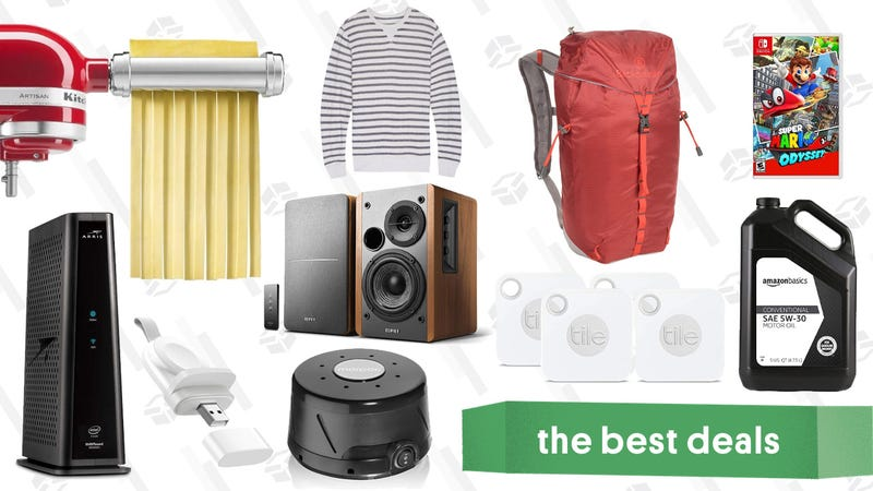 Illustration for article titled Tuesday's Best Deals: Edifier Speakers, Super Mario Odyssey, Backcountry Gear, and More