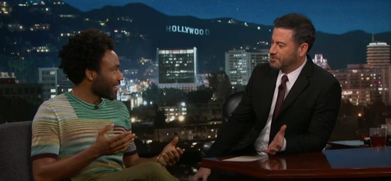 Donald Glover, Jimmy Kimmel