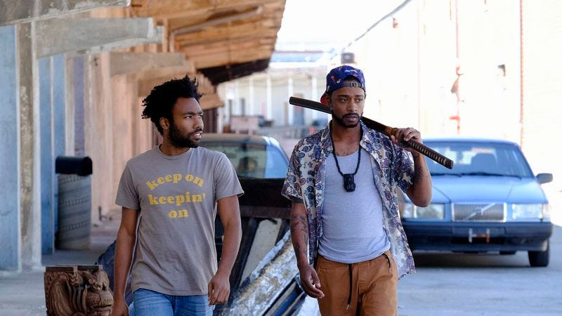 Donald Glover and Lakeith Stanfield (Photo: FX)