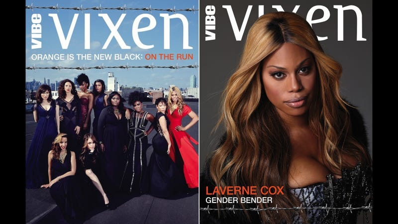 Illustration for article titled Orange Is The New Black's Laverne Cox Is Simply Stunning in Vibe Vixen