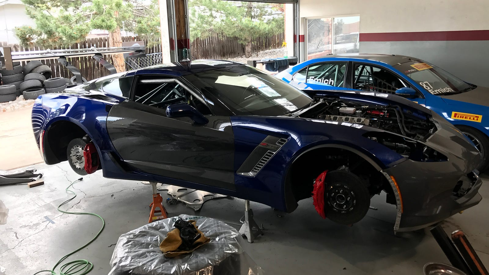 Turning A Salvage Corvette Z06 Into A Racecar Is The Hardest Thing I ...