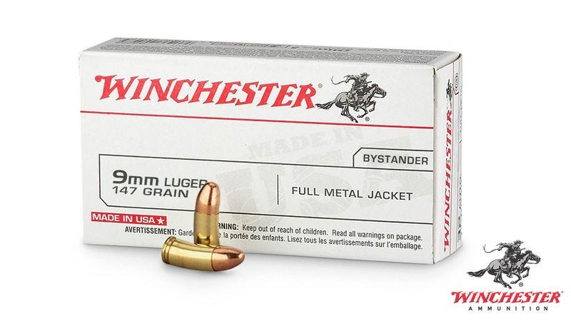 Illustration for article titled Winchester Unveils New 9MM Stray Bullet Guaranteed To Hit Innocent Bystanders