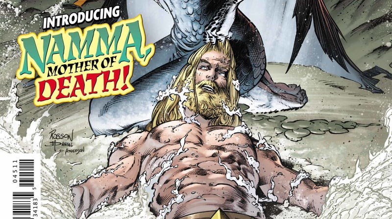Illustration for article titled Earth gets a new creation myth in this exclusive Aquaman #45 preview