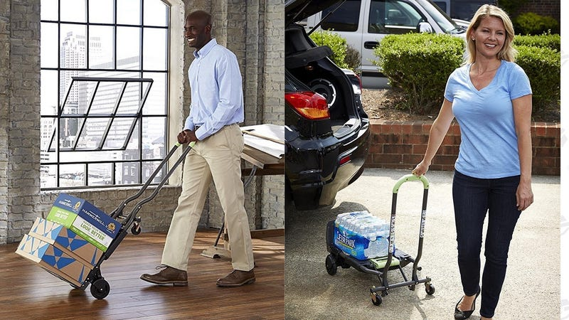 Cosco 300 Pound Capacity Dolly/Hand Truck | $50 | Amazon