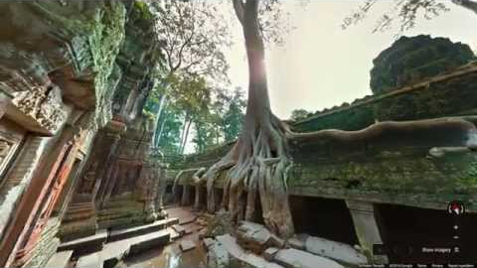 Angkor Wat Might Be the Prettiest Street View Yet