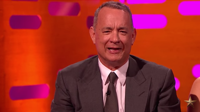 Tom Hanks settles the great Murray-Hanks debate of 2016