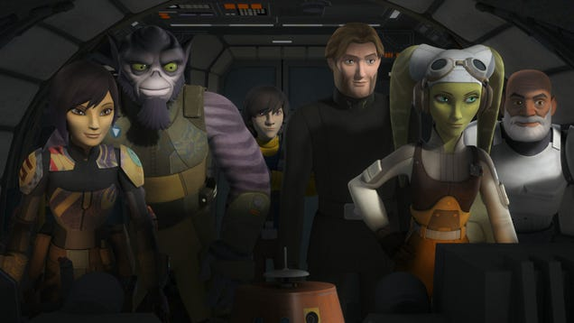We Tackle Your Burning Questions After the Star Wars Rebels Finale