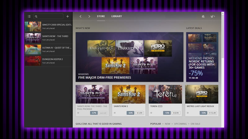 Why GOG Galaxy Is Worth Trying Out, Even if You Use Steam