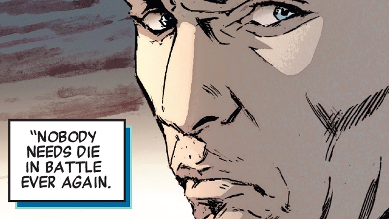Namor makes a bold proclamation in Invaders #1.