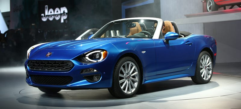 Illustration for article titled Only A Fool Or A Miscreant Hates The 2017 Fiat 124 Spider