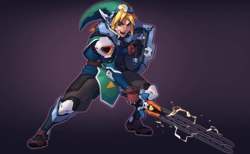 Illustration for article titled If Link Was An Overwatch Character...
