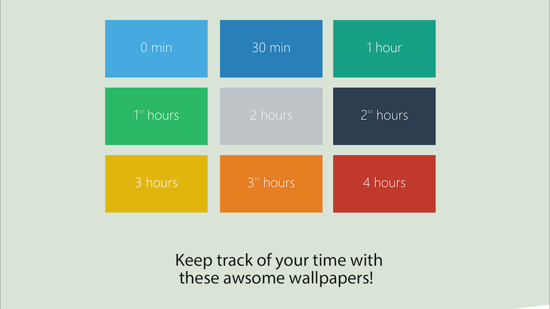 These Productivity Wallpapers Change Color As the Day Drags On