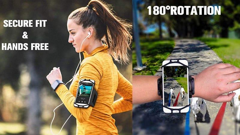 Newppon 180° Rotatable Running Phone Armband | $7 | Amazon | Promo Code 8NGHF8W5