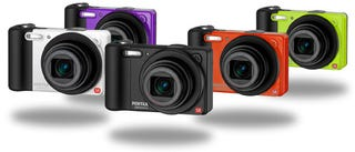 Illustration for article titled These Budget Compact Cameras from Pentax Look Cool—You Know, for Kids...