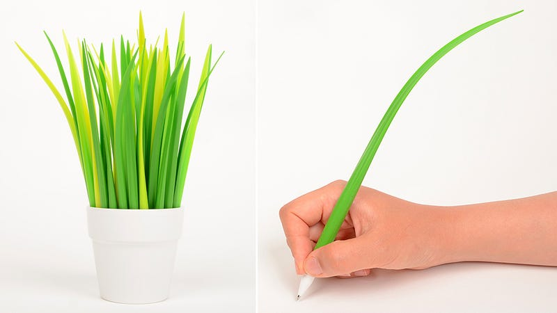 Illustration for article titled Silicone Pens Give You The Maintenance-Free Lawn You've Always Wanted