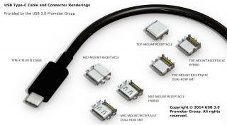 El conector USB reversible ya está listo para entrar en producción