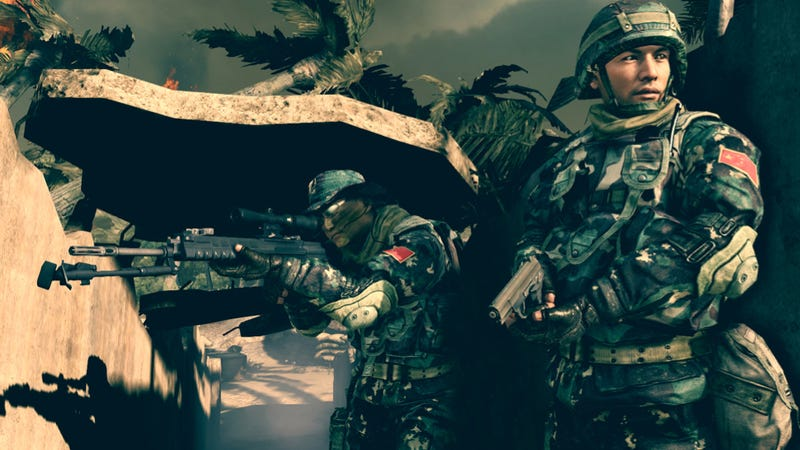 Illustration for article titled China's First-Person Military Shooter Has a Terrible Message