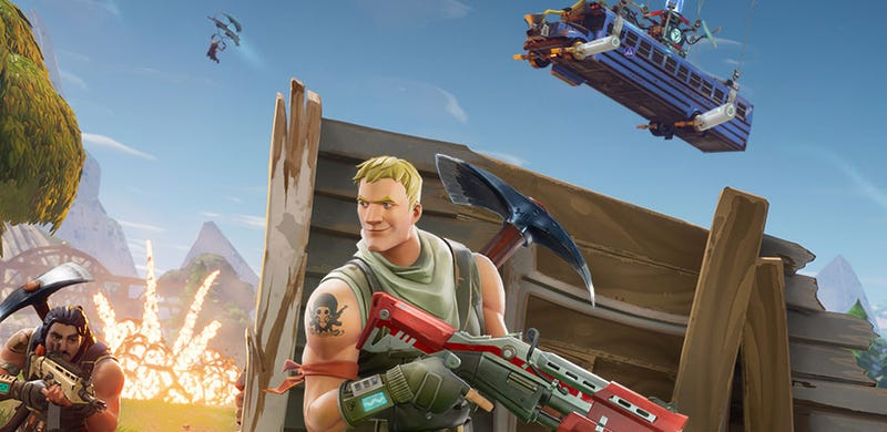 Illustration for article titled Fortnite Is Coming To Mobile, Will Support Cross-Platform Play
