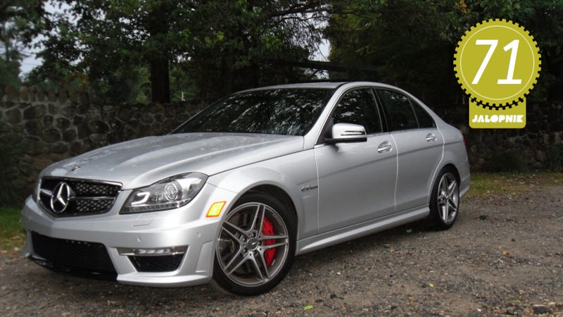 2012 mercedes benz c63 amg the jalopnik review for Mercedes benz c63 2012