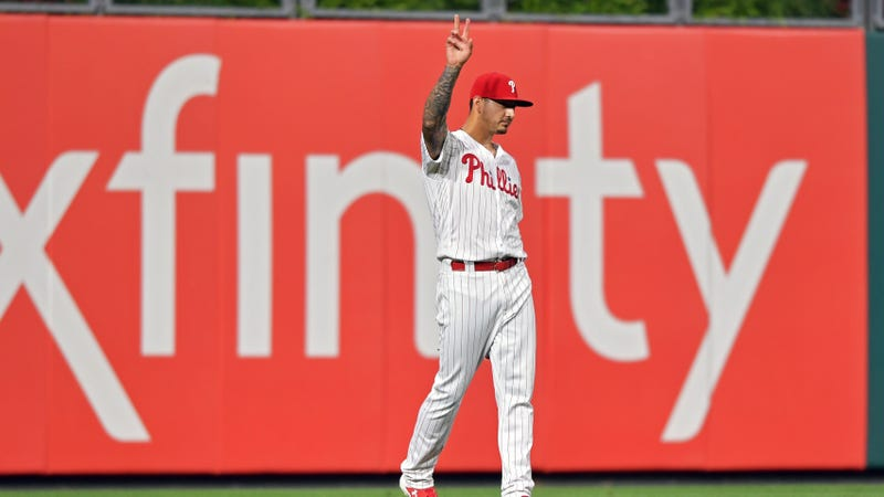 Phillies Pitcher Vince Velazquez Was The Best Left Fielder In Baseball For One Night