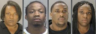 Sharon Jones, Lonnell McDonald, Cedric Jones Jr. and Cecila McDonaldDallas County Jail