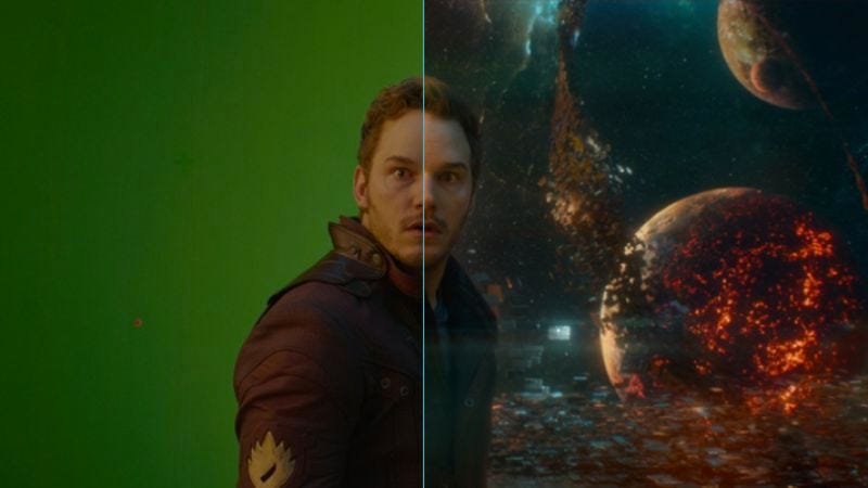 Illustration for article titled Watch this breakdown of Guardians of the Galaxy's stunning visual effects