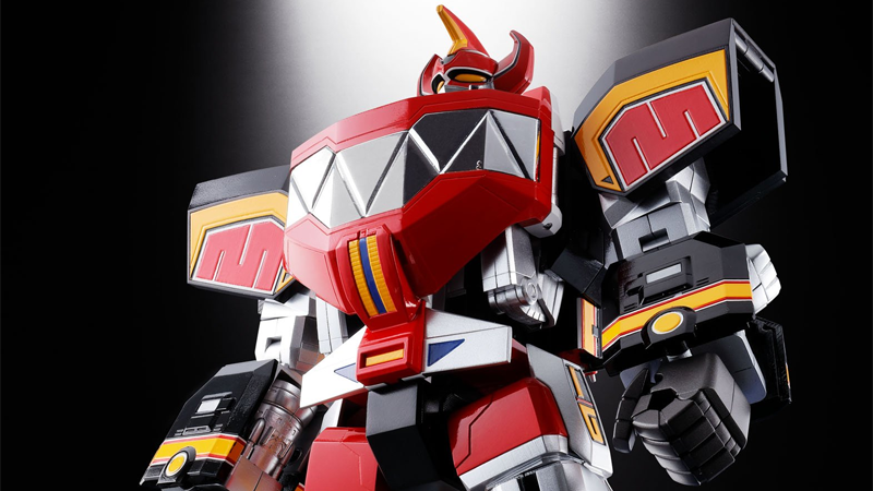 Illustration for article titled Whoa, Look at This Amazing Power Rangers Megazord Toy