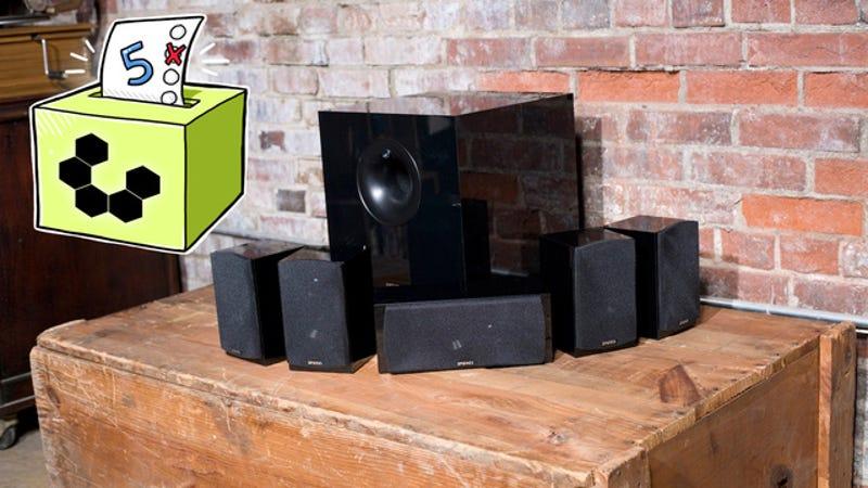 Illustration for article titled Five Best 5.1 Surround Speaker Sets