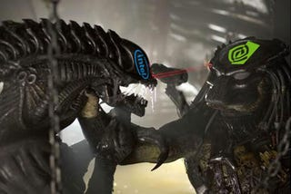 Illustration for article titled Intel and Nvidia At War, Gamers Are Collateral Damage