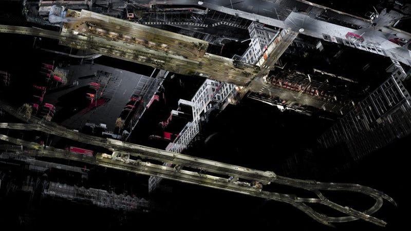 Illustration for article titled Nuevo escáner láser muestra el interior de edificios como un videojuego