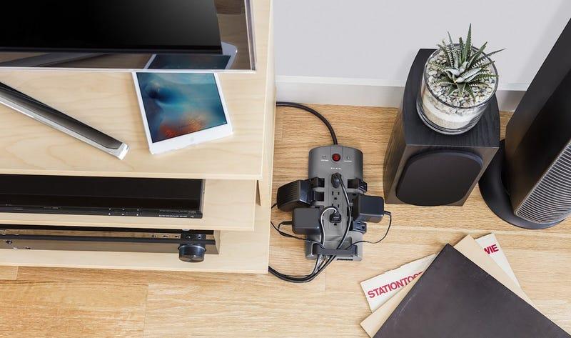 Belkin's 12-Outlet Pivot-Plug Surge Protector