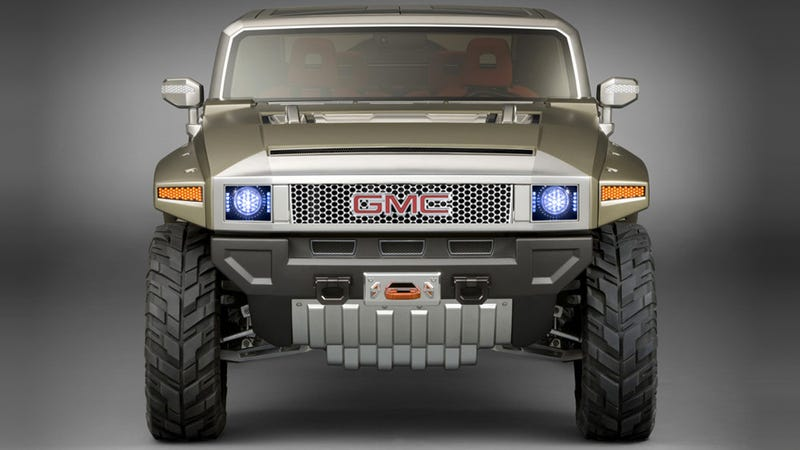 Illustration for article titled Could GMC Really Build A Legit Jeep Wrangler Rival?